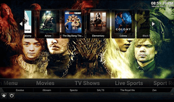 Titanium Kodi build for Krypton
