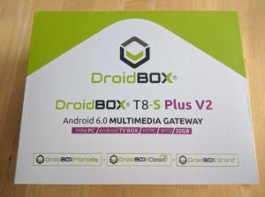 Android TV Box T8-S Plus V2 box