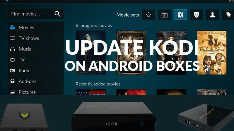 update kodi on android tv boxes