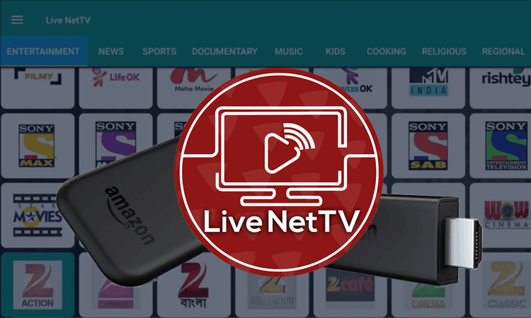 Live NetTV Install and Setup on a Fire Stick / Fire TV