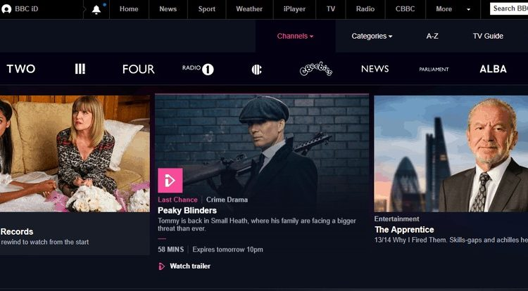 Watch BBC iPlayer from Abroad