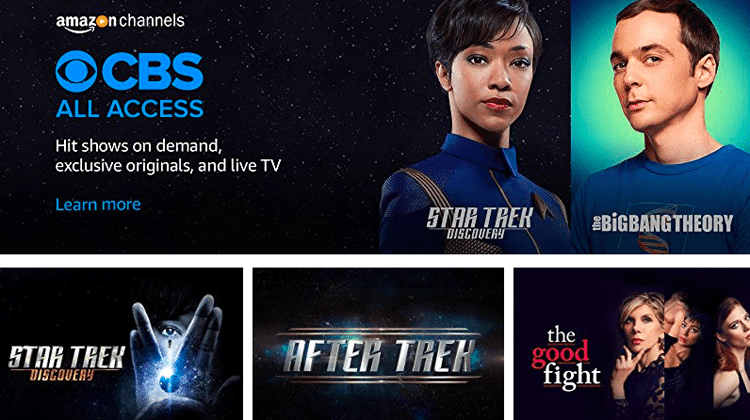 Watch Amazon Prime Video and CBS outside UK