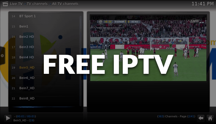 Best free IPTV lists and services for Kodi, Android Boxes or