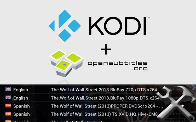 How to Add Subtitles on Kodi using OpenSubtitles org