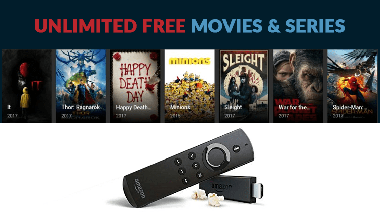 Unlimited free movies and series on firestick