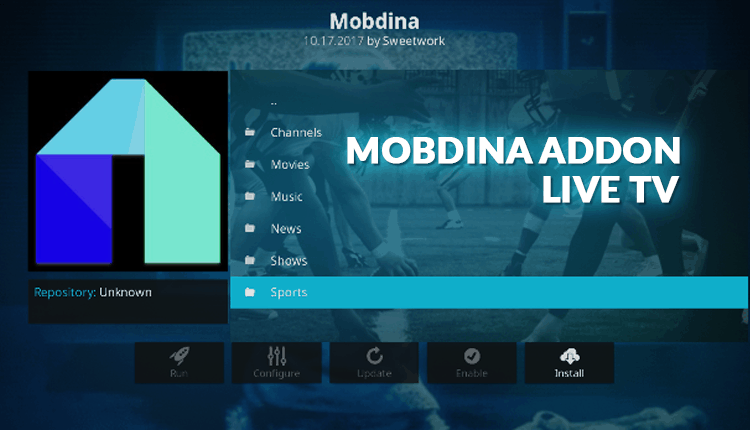 How to Install the Mobdina Addon for Kodi - BestDroidPlayer