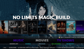No Limits is an one of the recent Kodi Builds for Firestick