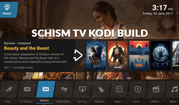 schism tv is one of the most customizable Kodi Builds for Firestick