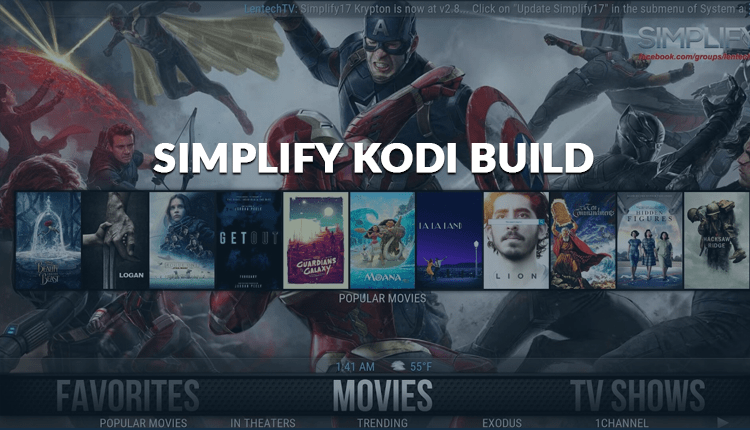 Simplify is a great Kodi Builds on our list for Firestick