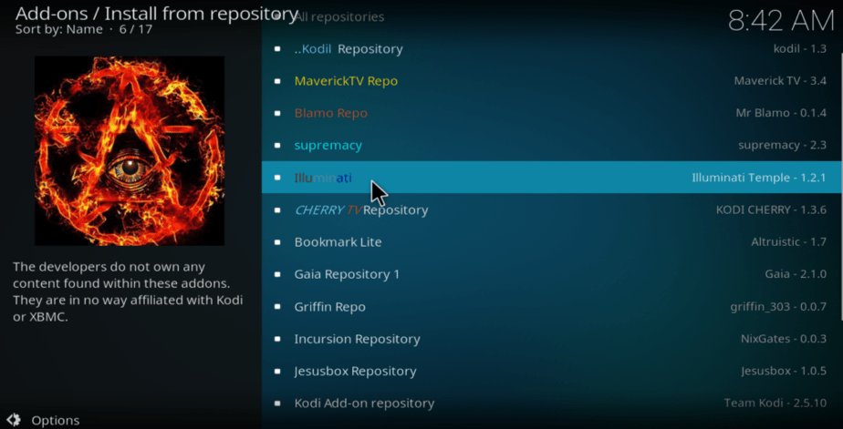 install from repository