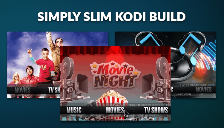 Simply Slim Kodi Build