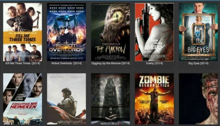 Cinema APK interface