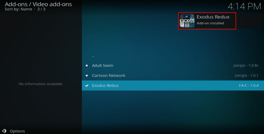 How to Install Exodus Redux Kodi Addon - watch movies and TV shows