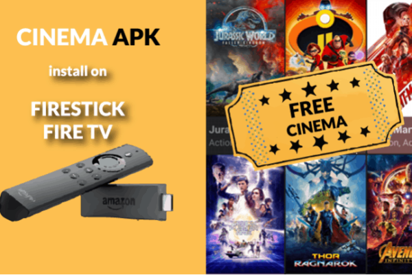How to Install Cinema HD APK on Firestick and Fire TV to watch movies and TV Shows for free