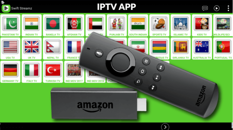 How to Install Swift Streamz on Firestick or Fire TV - IPTV streaming app