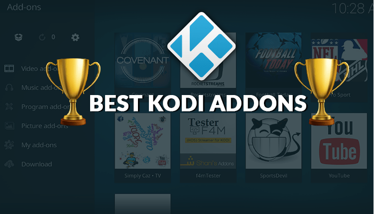 Top 23 Best Working Kodi Addons 2019 - Best Video Addons by Category