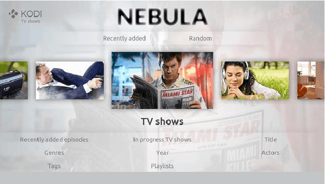 Nebula Kodi Build