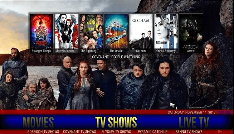 Best builds for Kodi 18 Leia - Live Sports Live Tv Movies Tv shows, kids