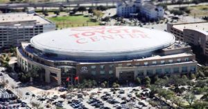 Toyota Centre in Houston