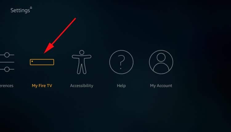 Select device to install Live Lounge apk on Firestick