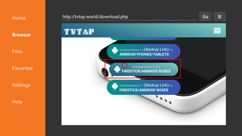 How to install TVTap on Firestick - enrich your firestick