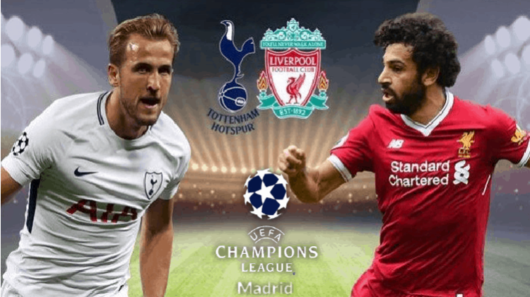 Watch Tottenham vs Liverpool Online for Free on this 2019 Champions League Final
