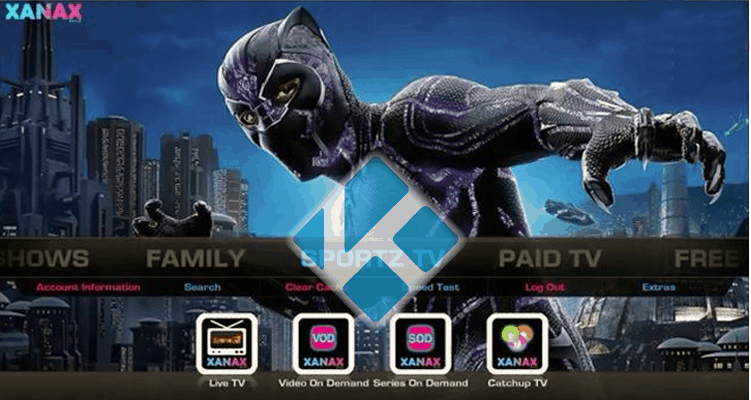 Xanax is probably the best build for streaming on Kodi 18