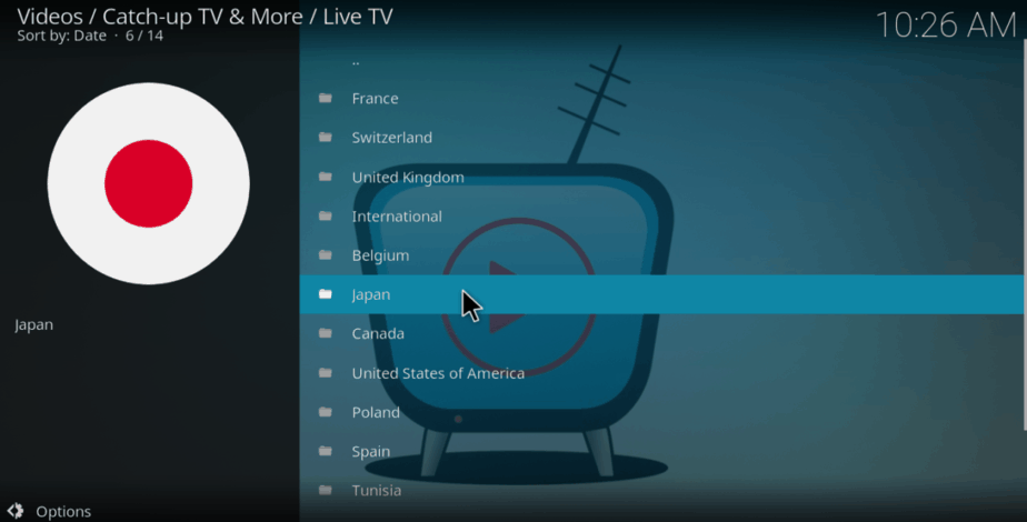 Watch Japanese TV using the Best Kodi Addons