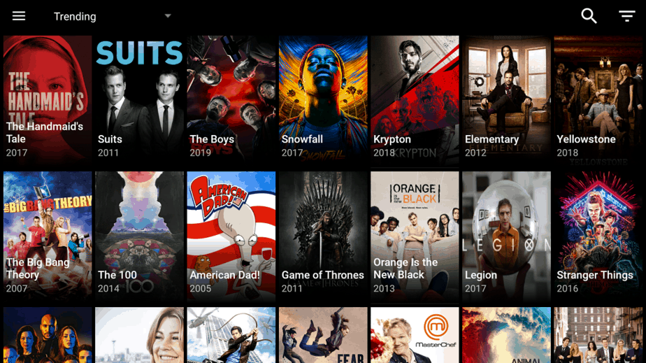 Install CatMouse APK on your Fire TV Stick or Android TV Box and enjoy this app