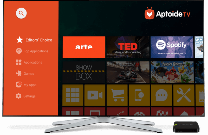 Sideload Aptoide TV Store app as way to install Apps on Android from there