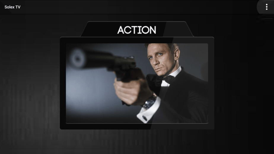 After install and connect with a Good VPN you are good to open the Solex TV app