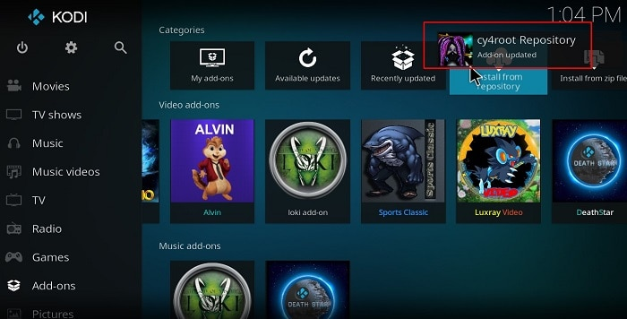 cy4root repo is ready to be used to install MirRoR Video Addon on your Kodi