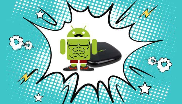 fully load android tv box