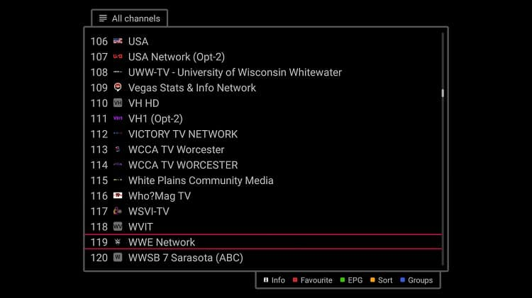 After the Install Smart IPTV on Firestick you can set up your Firestick and choose the IPTV .3mu file from the List