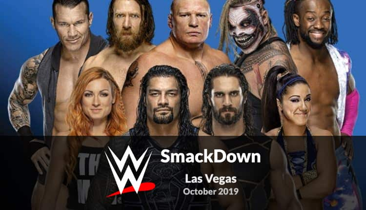Watch WWE SmackDown Las Vegas on Kodi and Android in October
