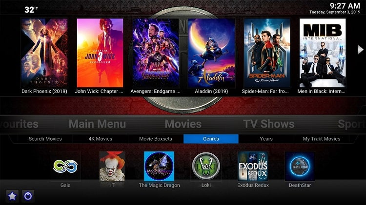 Titanium is an excellent buil in this list of the Best Kodi builds for movies and TV shows