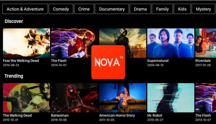 How to Install Nova TV APK on Firestick or Android TV Box