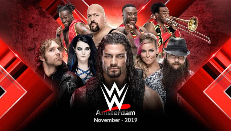 Watch WWE Live Amsterdam using the best streaming apps