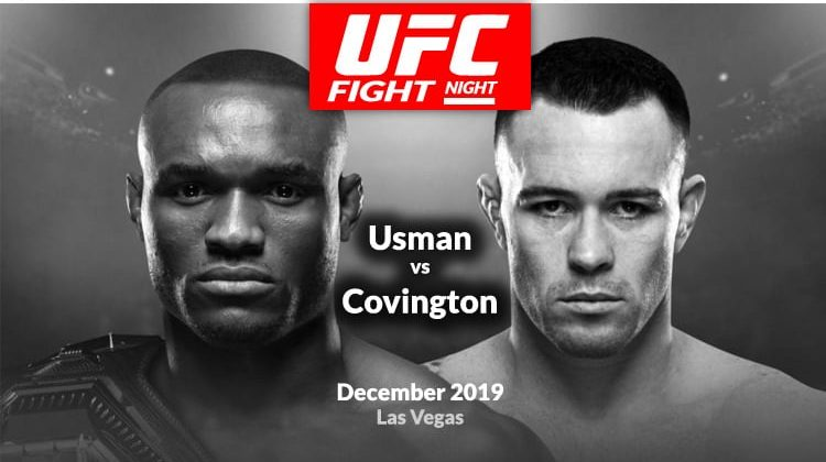 Watch UFC Fight Night 245 Usman vs Covington on Android or Kodi