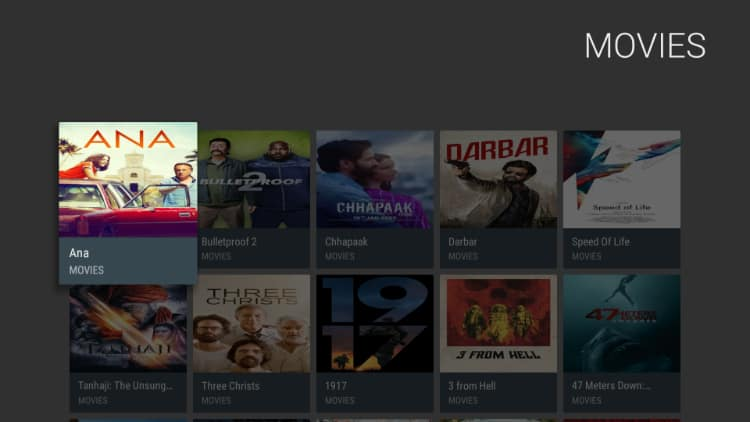 After install theater plus, enjoy the instant and quality streams provided by the app