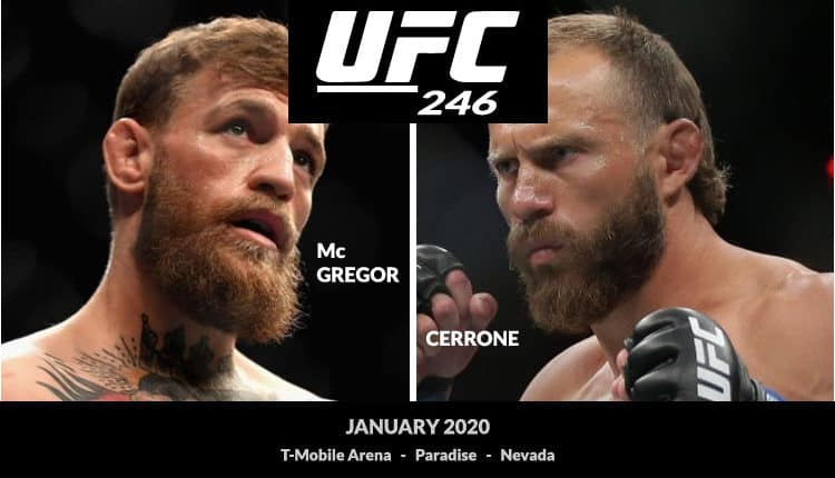 How to Watch UFC 246 McGregor vs Cerrone known as the Cowboy on Kodi