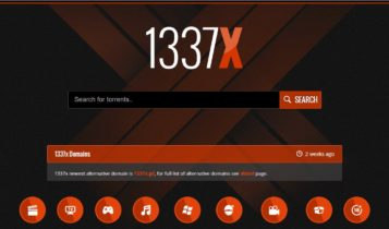 1337X is one of the best Torrent sites and cares about the visual appearance