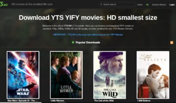 YTS is one of the best Torrent Sites ideal for most torrent fans and people with low bandwidth
