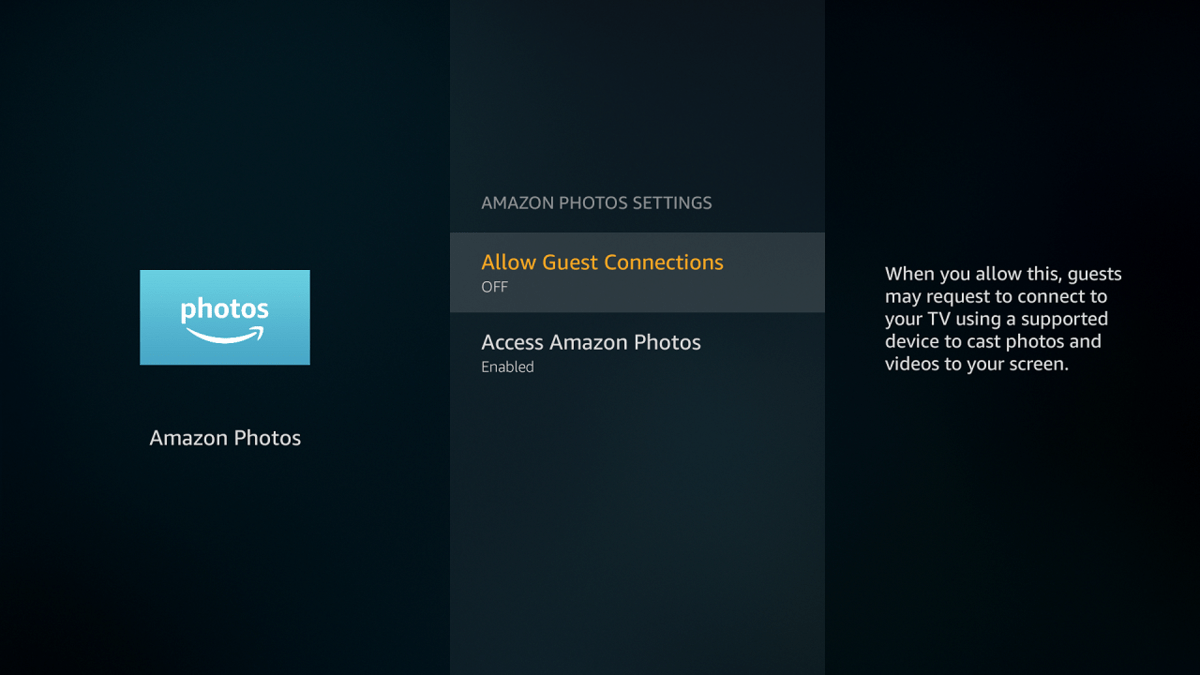 Firestick Allow Guest Connections OFF