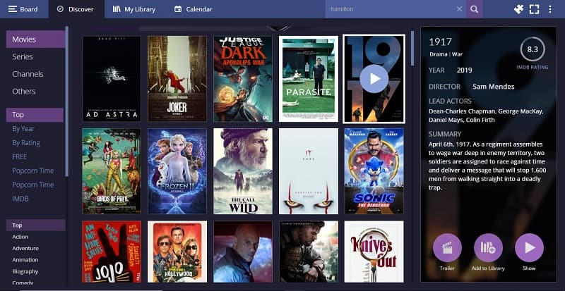 Watch theatre movies for free