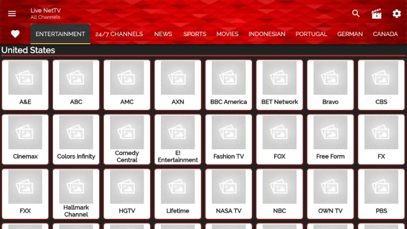 live NetTV Overview