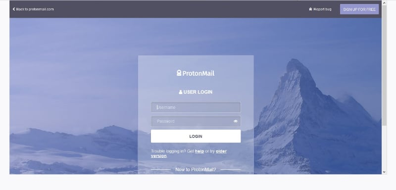 ProtonMail respects your privacy