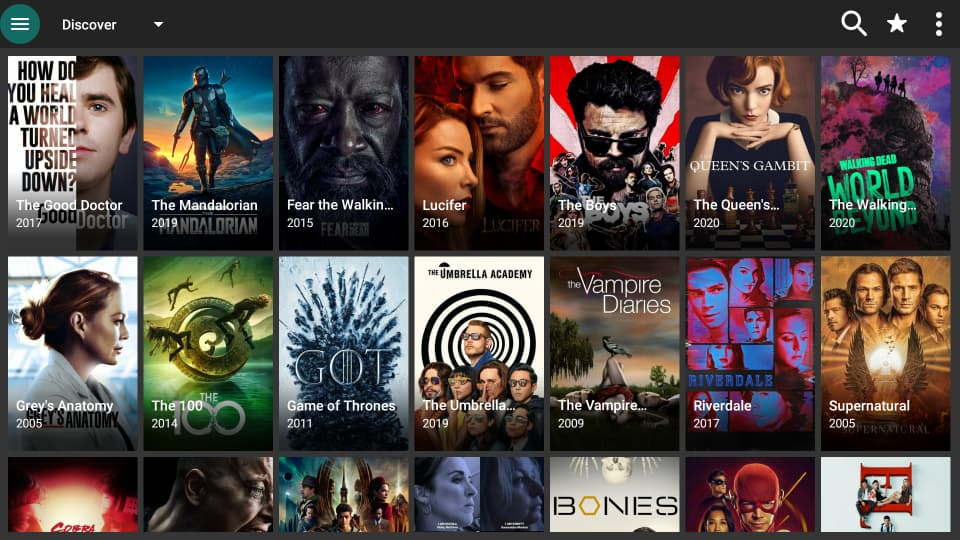 After install the APK, enjoy FilmPlus Library on your Firestick or Android TV