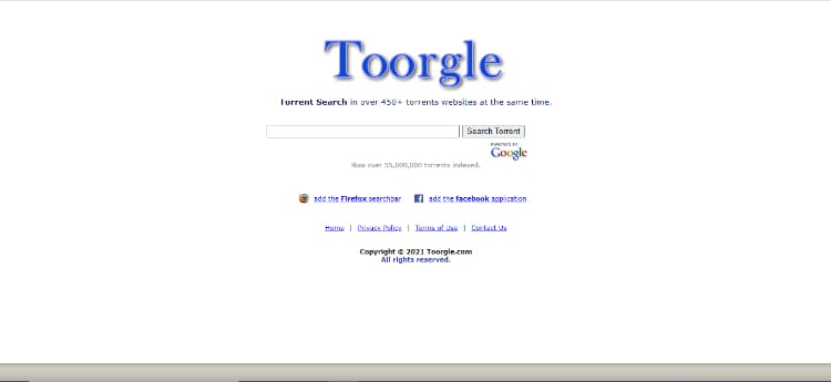 Toorgle Snowfl Torrent Search Engine