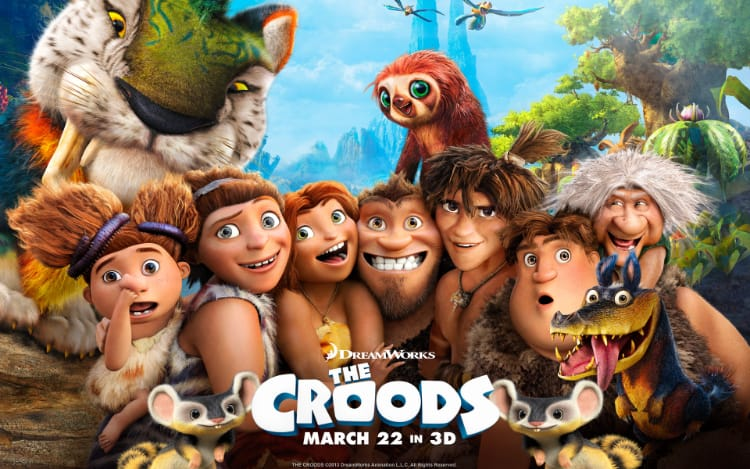 The Croods is one of the best iconic and timeless movie available in 3D to download
